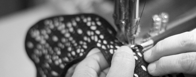 Producto artesanal cosido a mano en España